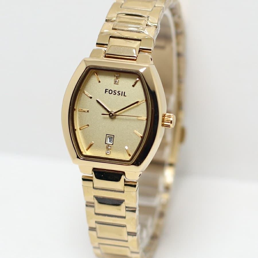 Harga Jam Tangan Couple Fossil Ta0225soft Brown Terbaru Original Watch Ch2891 Coachman Chronograph Oval