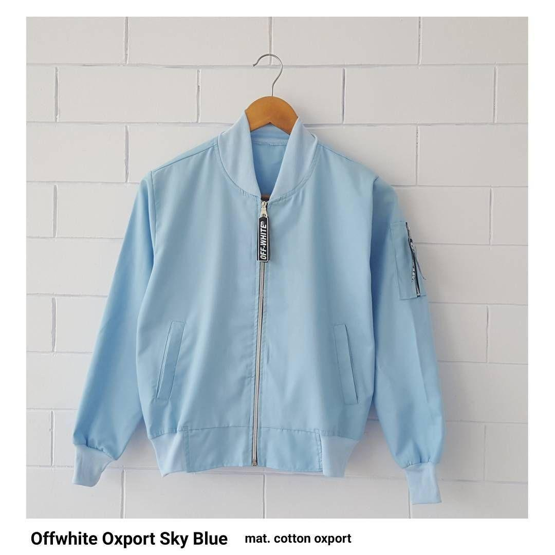 JAKET BOMBER OFFWHITE OXPORT - CASUAL AND KOREAN STYLE