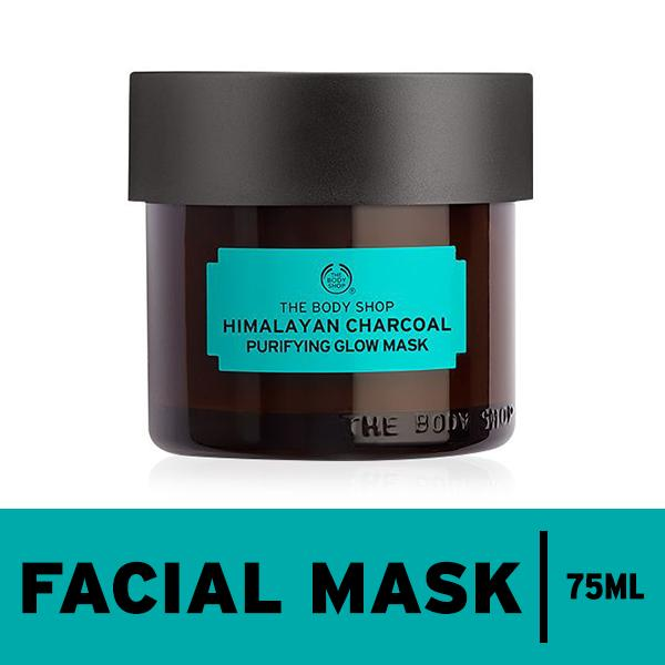 Spesifikasi The Body Shop Himalayan Charcoal Purifying Glow Mask Terbaru