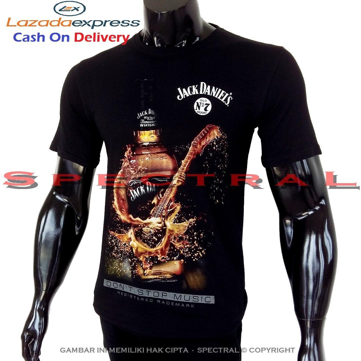 Spectral - GITAR MIRAS 100% Soft Cotton Combed 30s Kaos Distro Fashion T- Shirt
