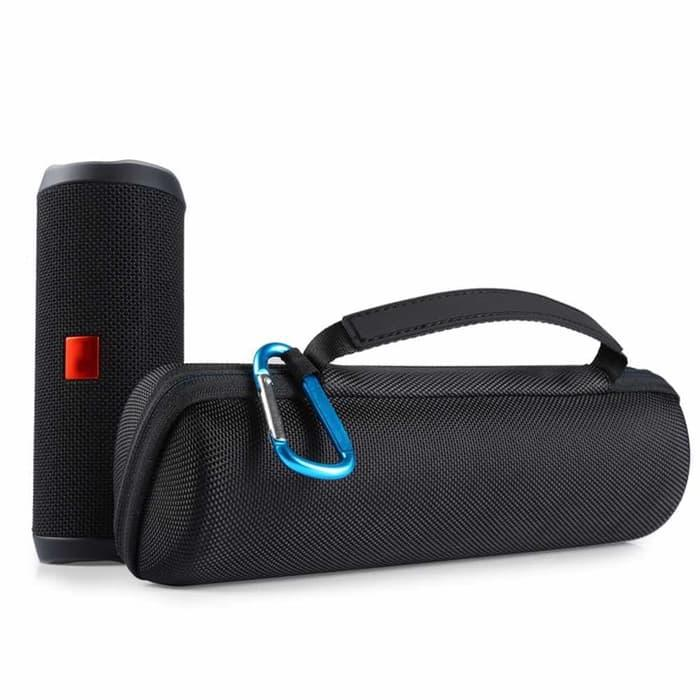 Travel EVA Hard Case for Speaker Outdoor JBL Flip 4 - Hitam