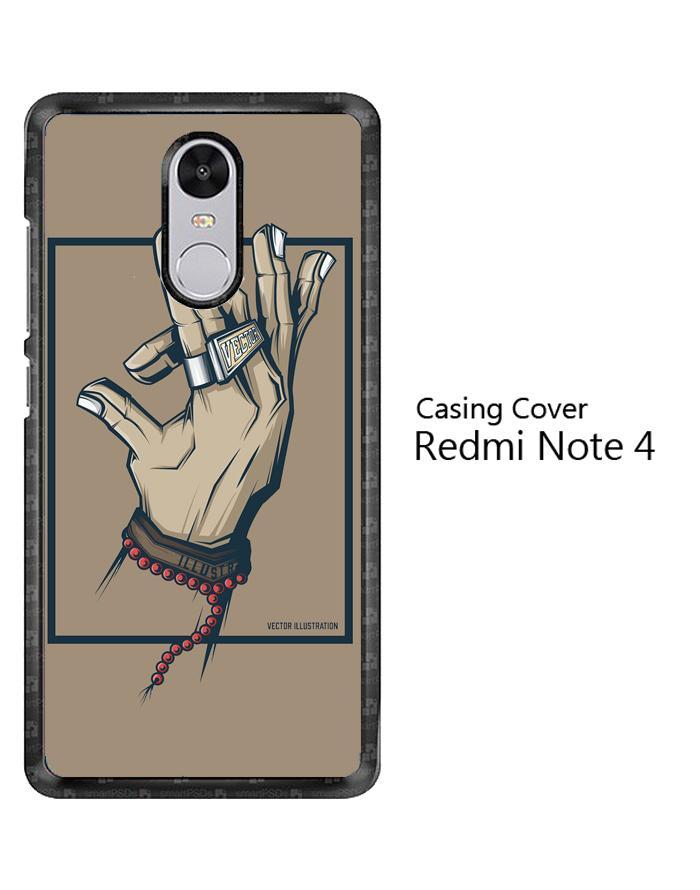 Casing HP Custom Vektor Illustration O0318 Redmi Note 4