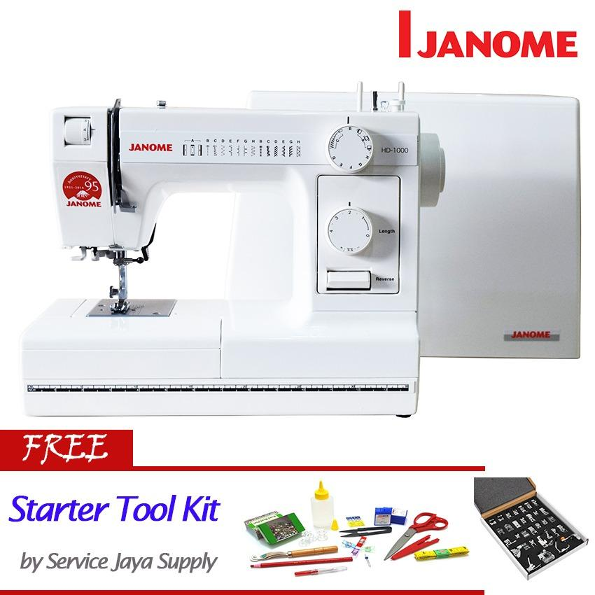 Top 10 Janome Hd 1000 Mesin Jahit Portable Free Sjs Starter Kit Online