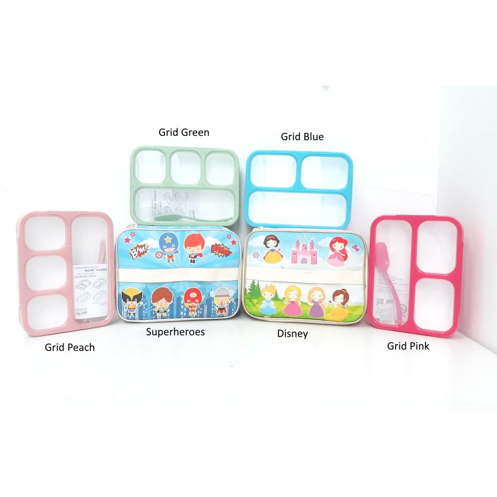 ... SET Lunch Box Kotak Makan Bento Yooyee dan Lunch Bag Tempat Bekal FULL Printing Variasi Sup ...