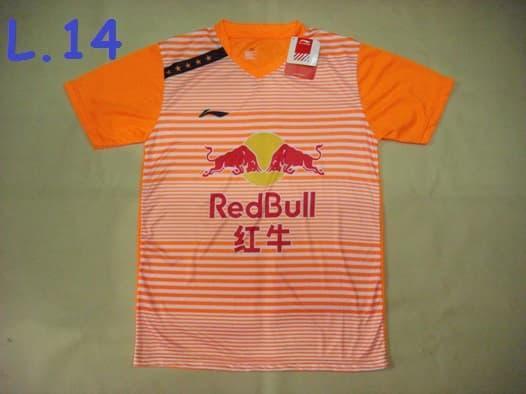 Baju Badminton / Bulutangkis Lining L.14 RedBull Orange - LJPOCC