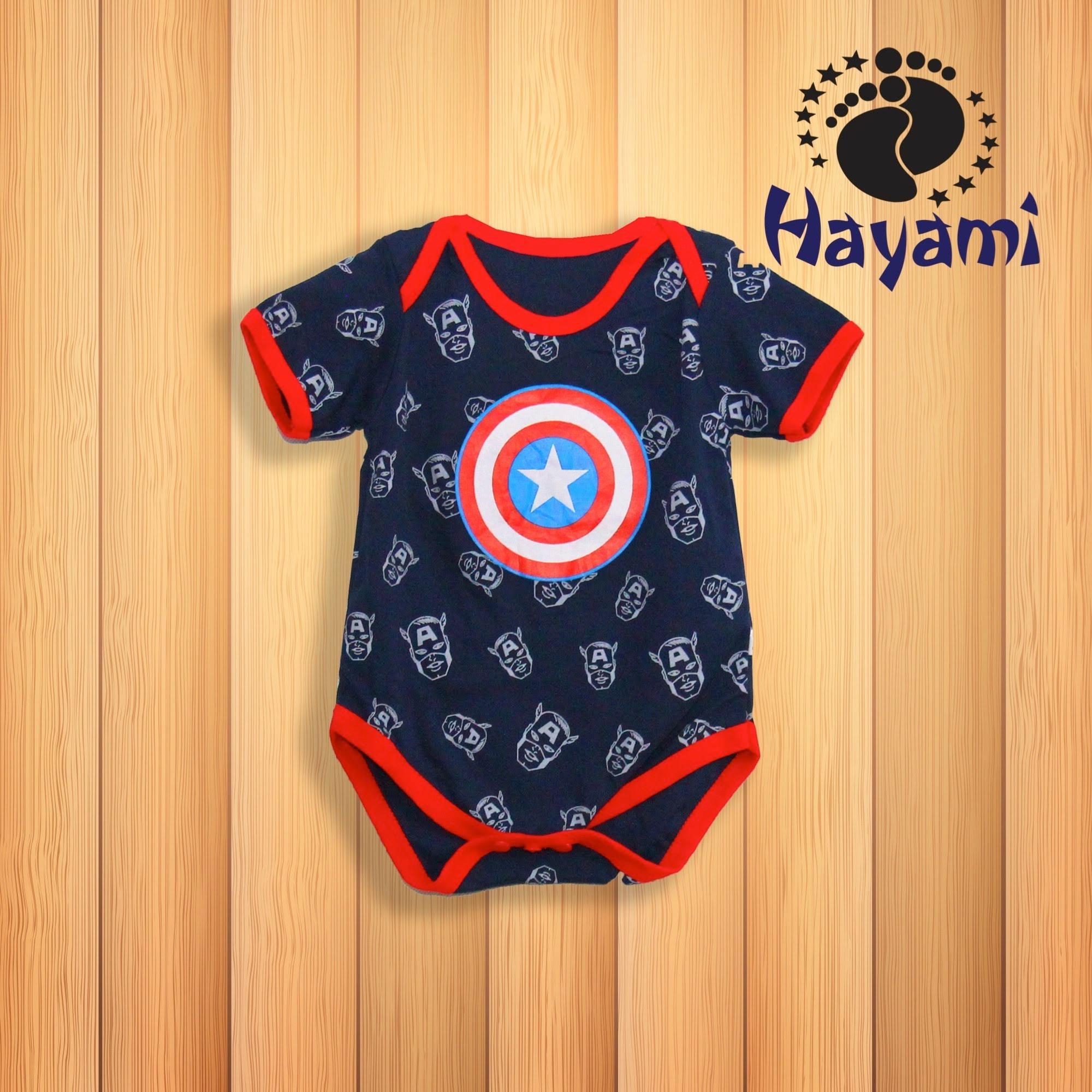 Fitur Baju Kaos 3d Captain America Kapten Amerika Gym Fitness Katalig Baji Kaptem Hayami Jumper Bayi