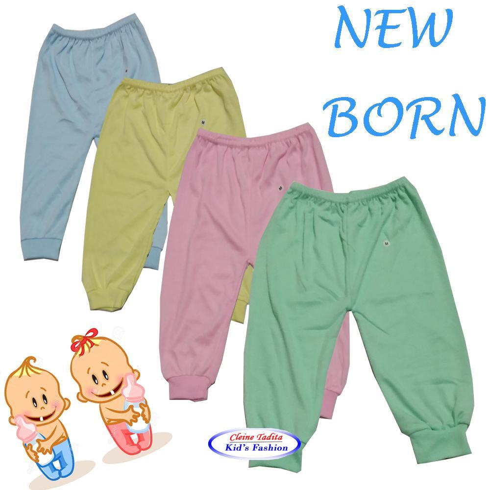Cek Harga Baru Luvita Celana Bayi Panjang Polos Newborn 4pcs Terkini Baju Oblong Iol 1 Set Dengan Karet