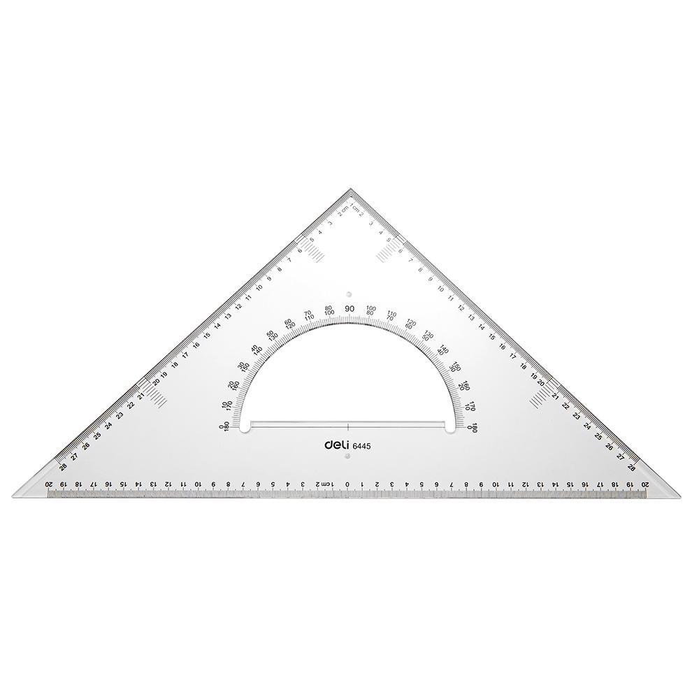 Deli E6445 Drafting/Drafting - Set Square 2pcs 43cm - 2