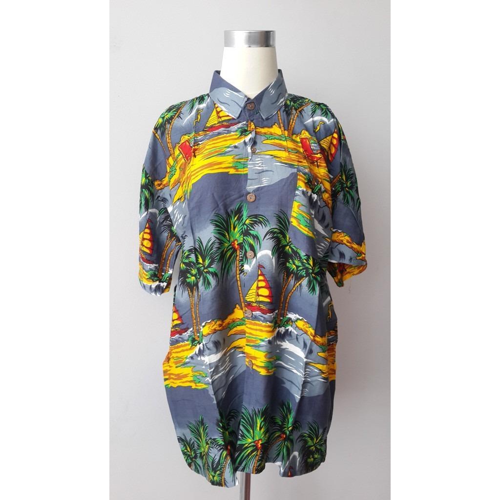 Baju Kemeja Hawaii XXL 12