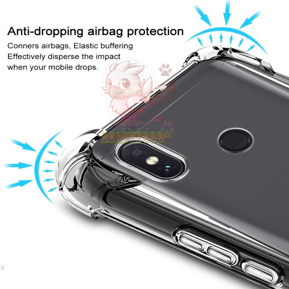 Softcase Anti Shock Crack For Xiaomi Redmi Note 3 Aircase Putih Temperred Glass Free Tempered Transparant Terbaru Case 5