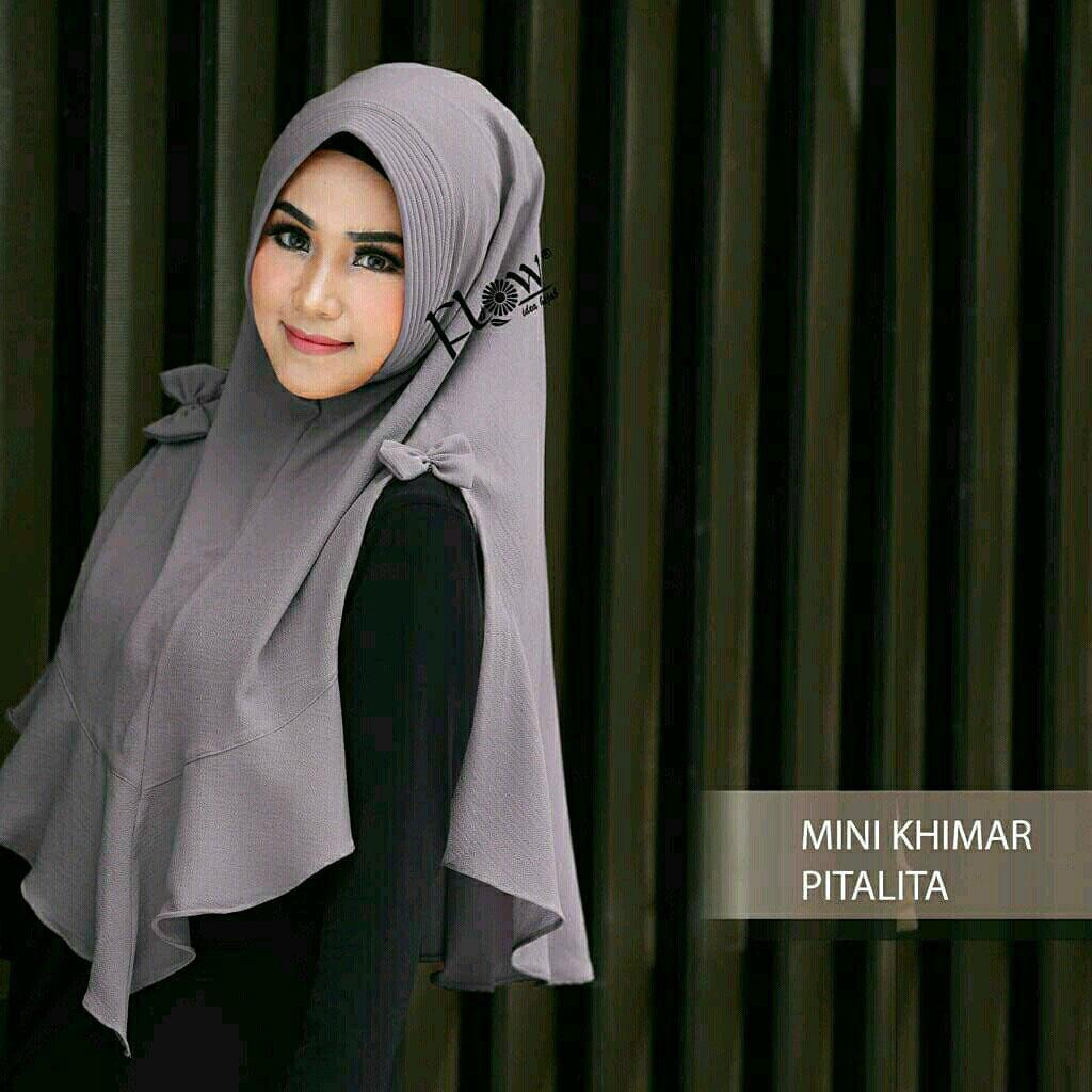 Kelebihan Hijab Instan Amf2 Amaze By Tiara Hijabers Terkini Daftar Mini Khimar Pita Lita Abu Kerudung Jilbab Murah