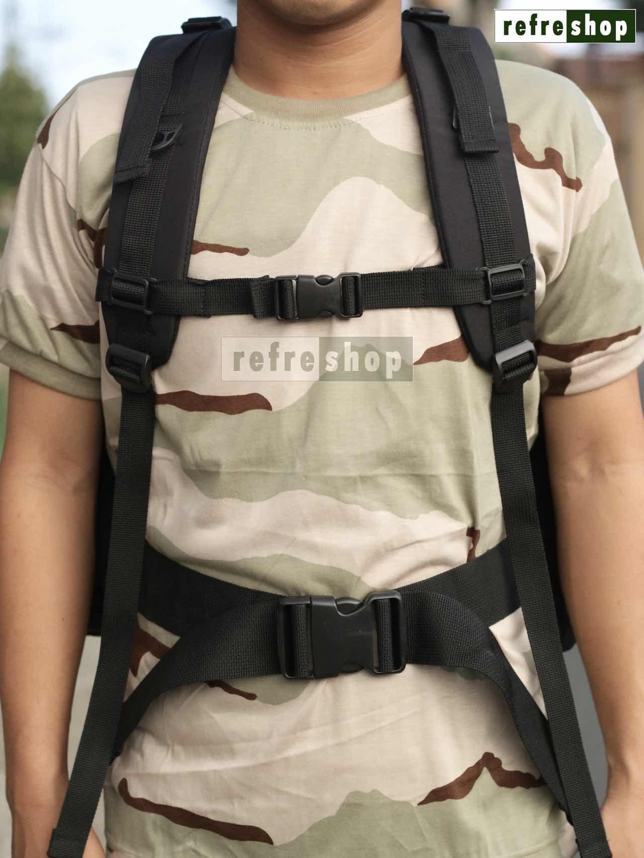 Tts Tas Loreng Army Canvas Bag Fashion Men Ransel Kanvas Edberth Blue Source
