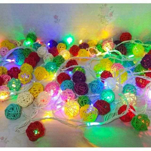 Lampu Hias LED Warna Tumblr Rainbow Dengan Sambungan