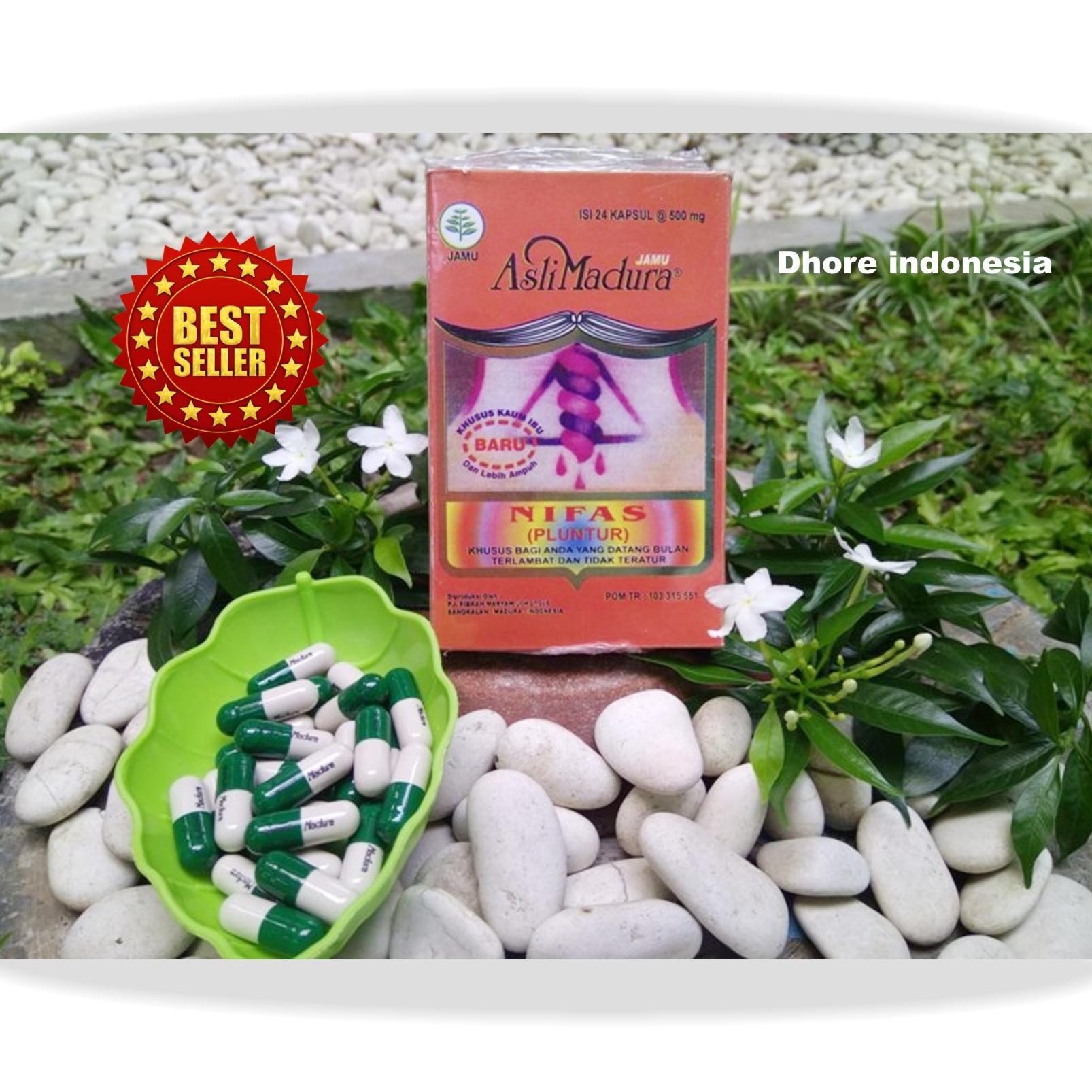 jamu mujarab – jamu peluntur/ obat haid / jamu teratur datang bulan / asli ramuan madura