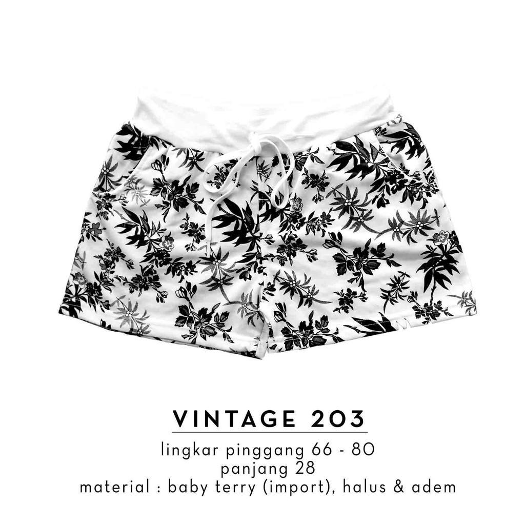 Kelebihan Imported Women Short Pants Baby Terry Celana Pendek Santai Vm Pria Hitam Wanita Import Vintage