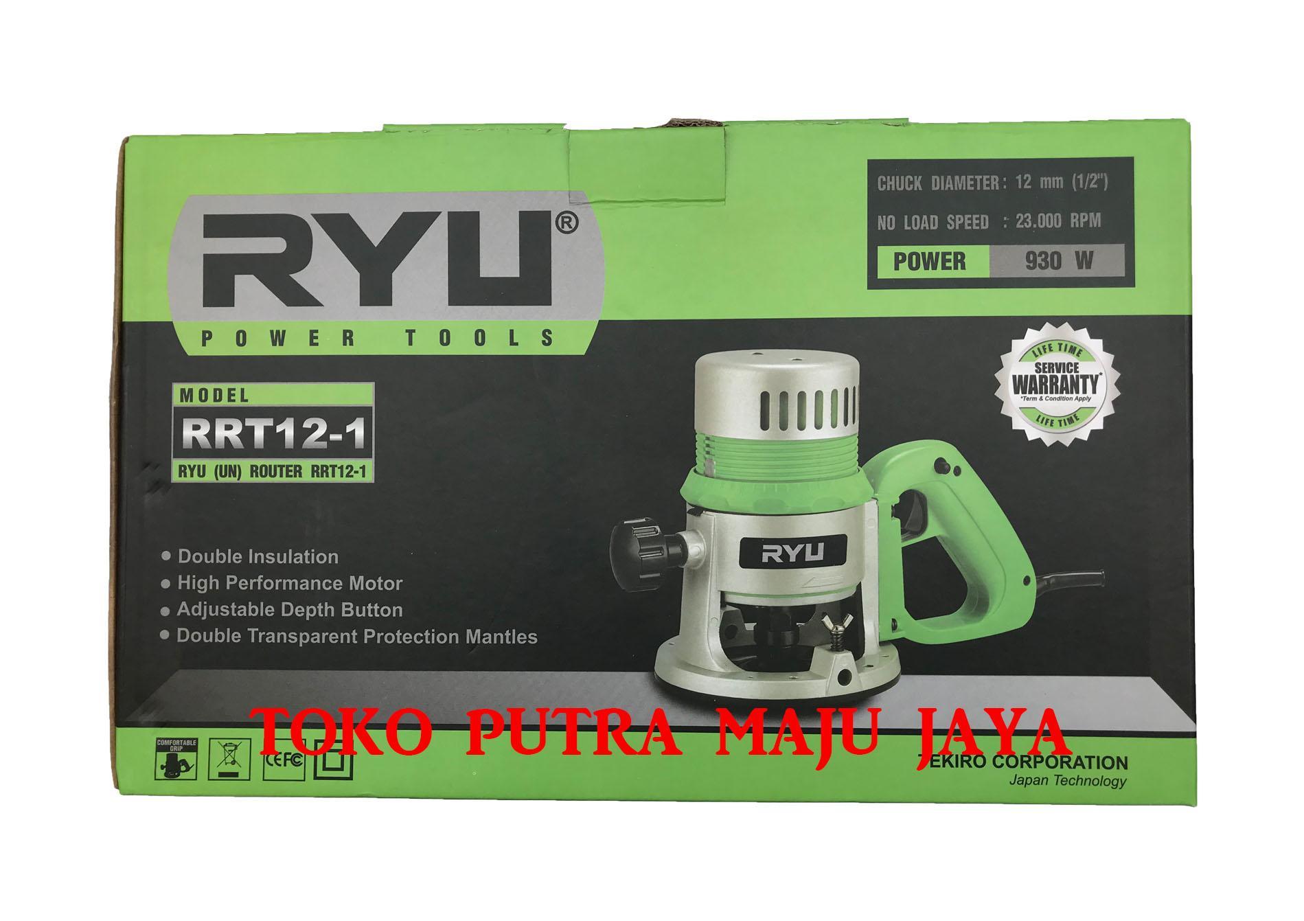 ... TEKIRO RYU ROUTER / MESIN PROFIL KAYU 23.000 RPM / 12 mm (RRT 12 -