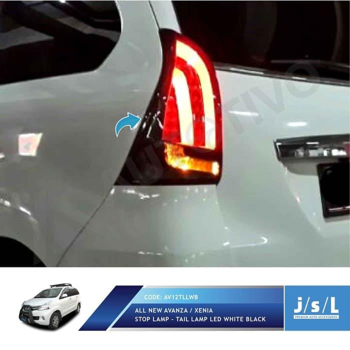 Stoplamp LED All New Avanza Xenia White Black