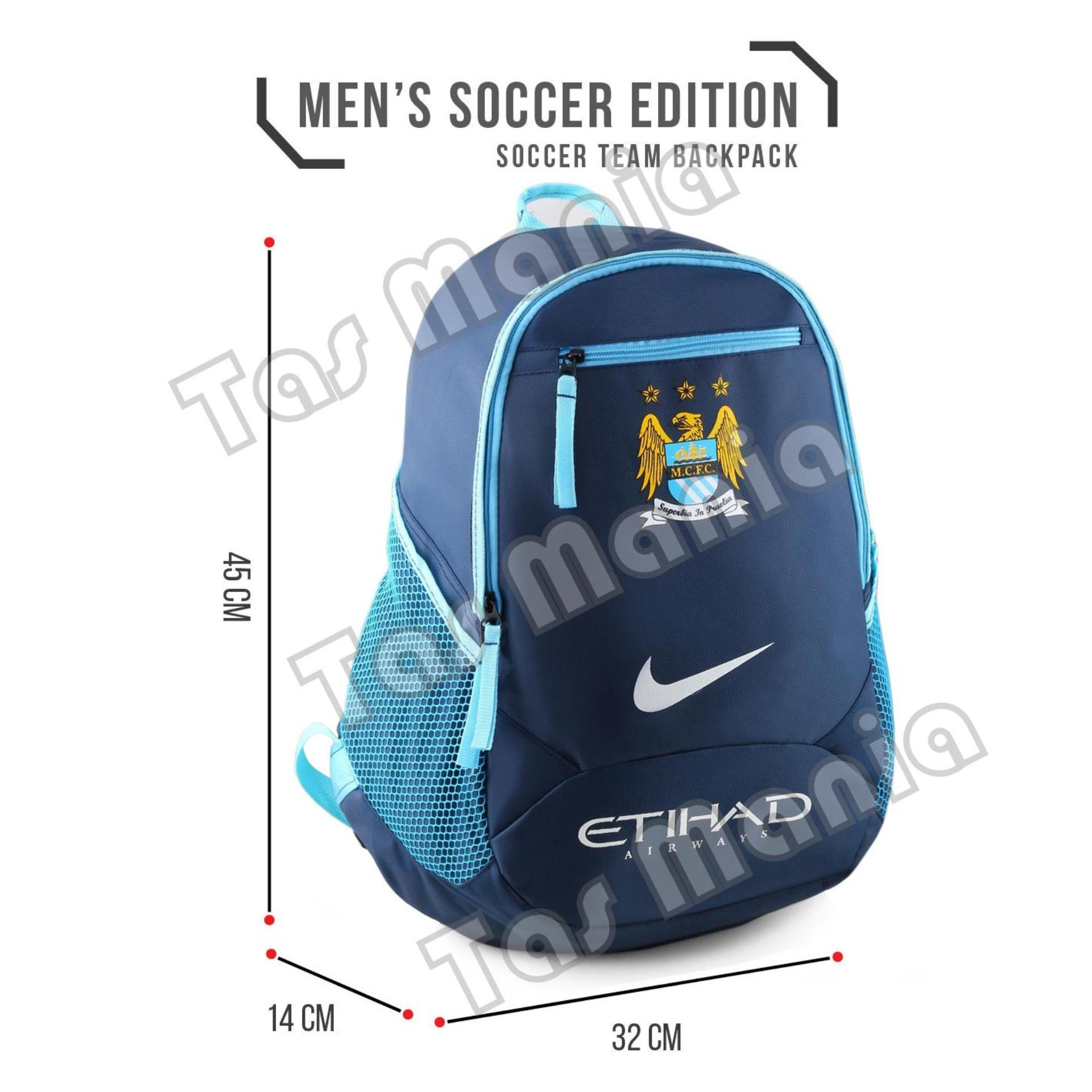 Tas Ransel Nike Bola Pria The Citizens - Etihad Laptop Backpack Mens Soccer .
