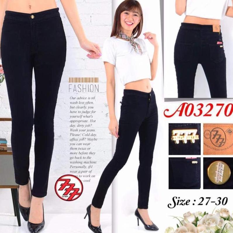 BNTG-Celana Jeans Haigh Waist Wanita Panjang Wanita.