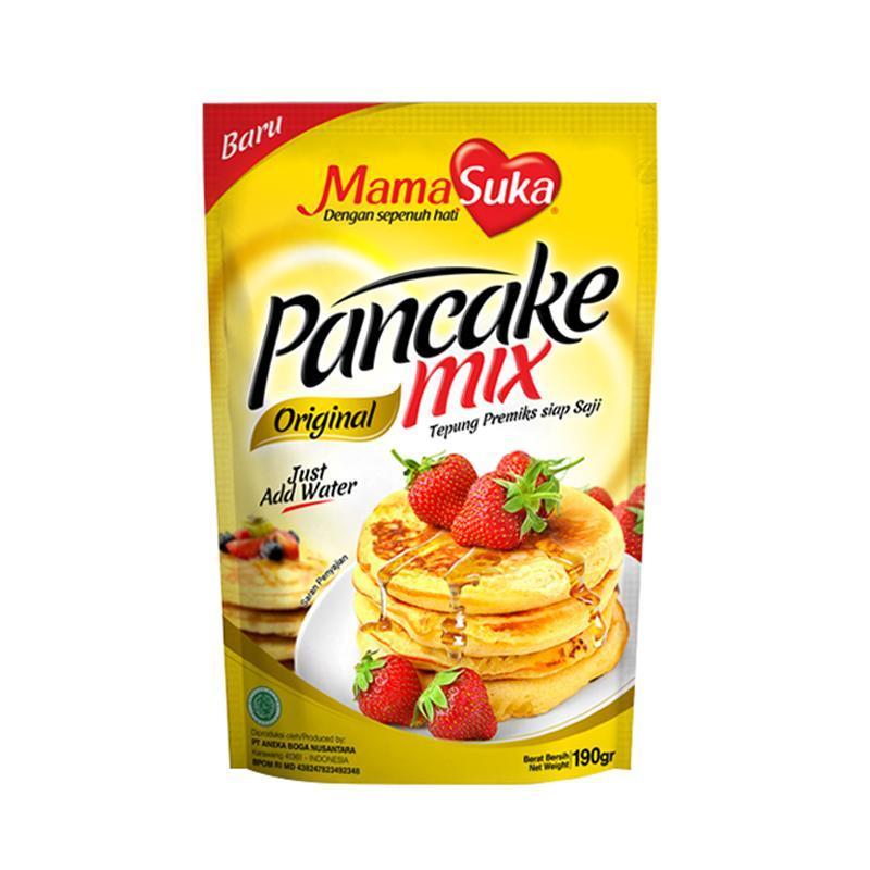 MamaSuka Pancake Mix Original 190g