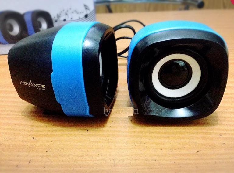 Speaker Multimedia Advance Duo 040 - Speaker Mini Computer Laptop Hp Handphone Duo-040