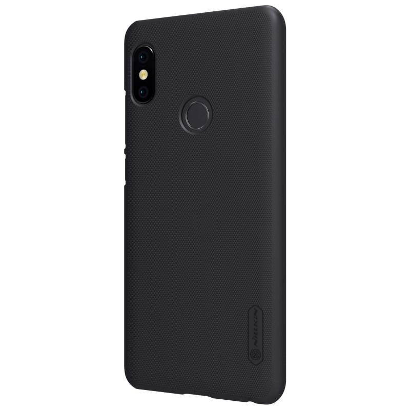 Nillkin For Xiaomi Redmi Note 5 Pro Super Frosted Shield Hard Case Original - Hitam - 4