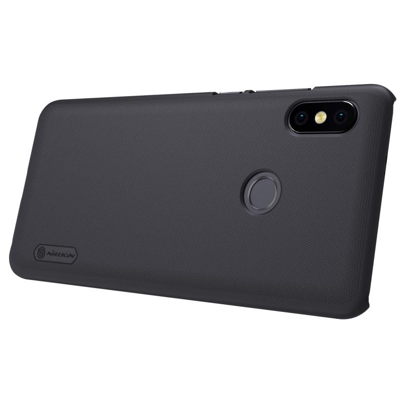 Nillkin For Xiaomi Redmi Note 5 Pro Super Frosted Shield Hard Case Original - Hitam - 5