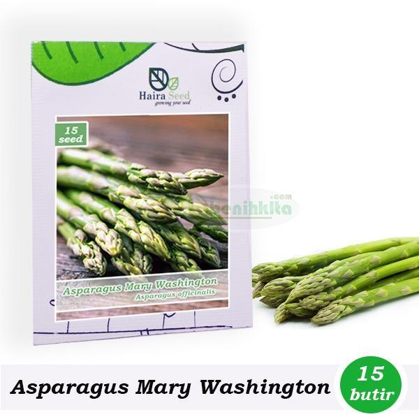 Benih-Bibit Asparagus Mary Washington (Haira Seed)