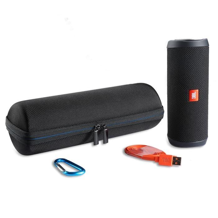 ... PROMO TERLARIS Hard Case Cover Bag Pouch Storage For JBL FLIP 4 Bluetooth Speaker - 4 ...