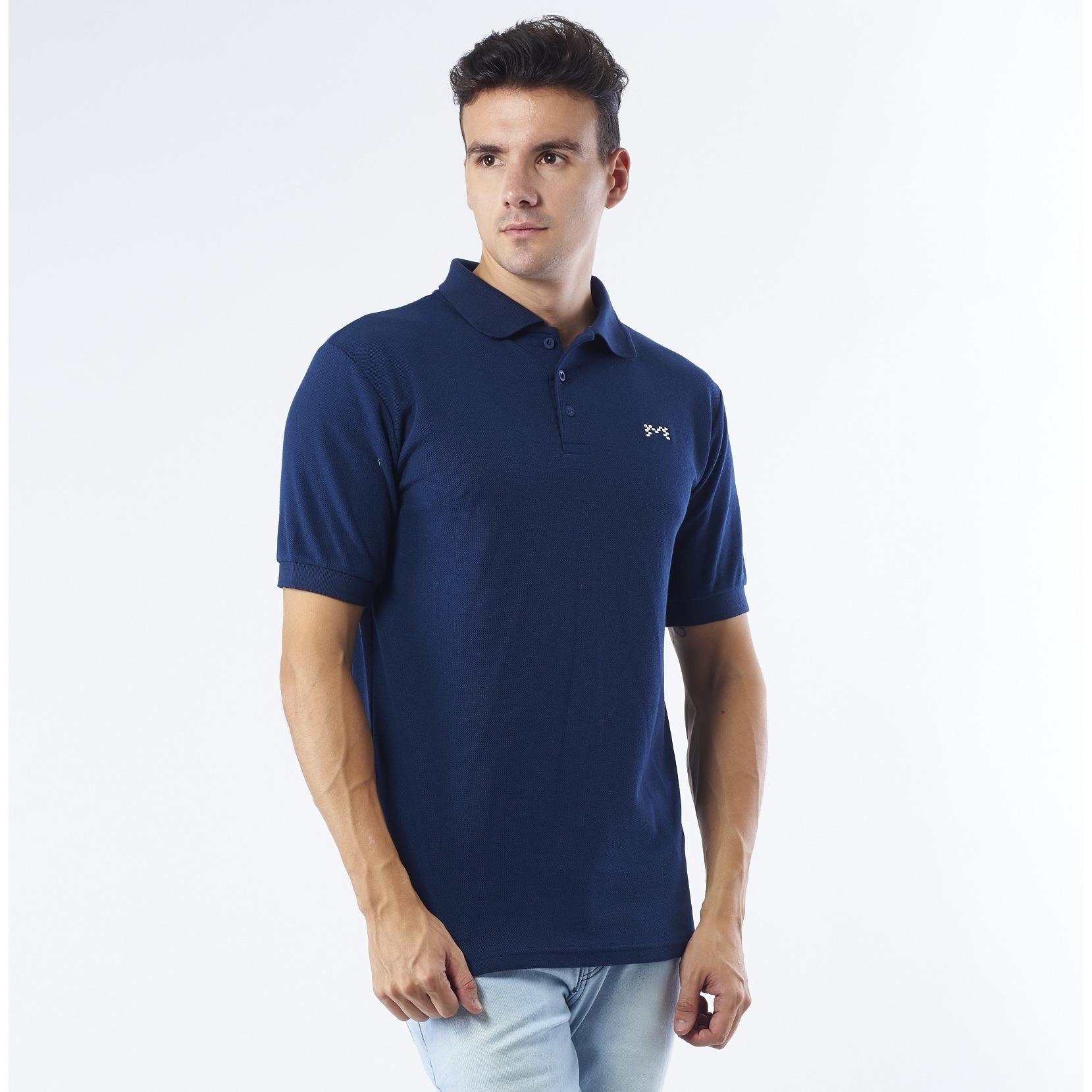 Promo Toko Mark Inc Polo Shirt Navy Blue