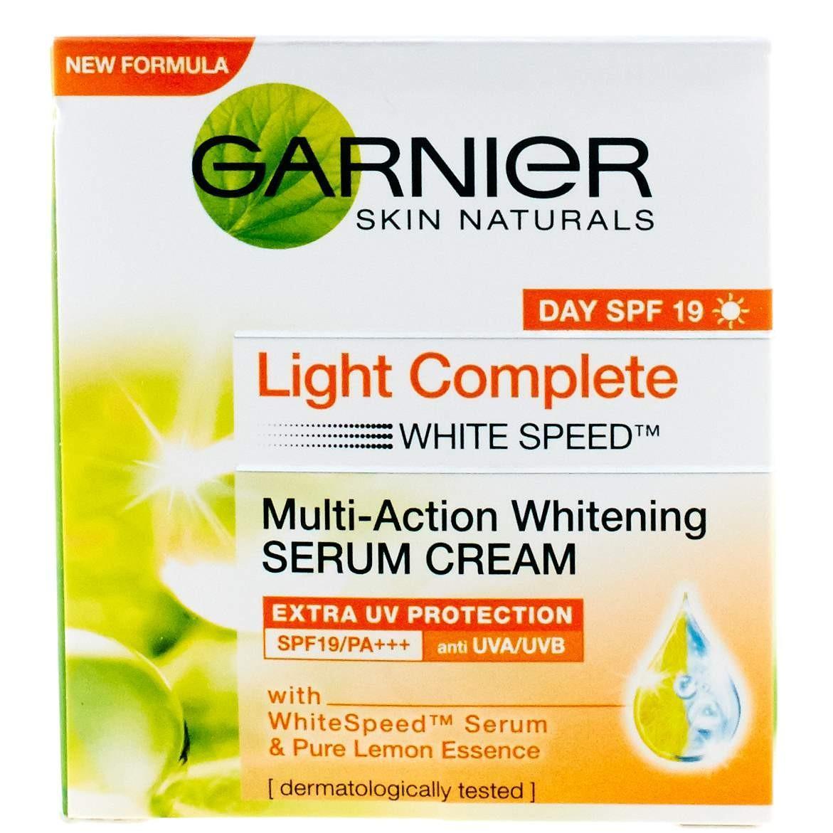 Fitur Garnier Light Complete Speed Serum Cream 50ml Dan Harga White Super Foam 10 100ml Detail Gambar Terbaru