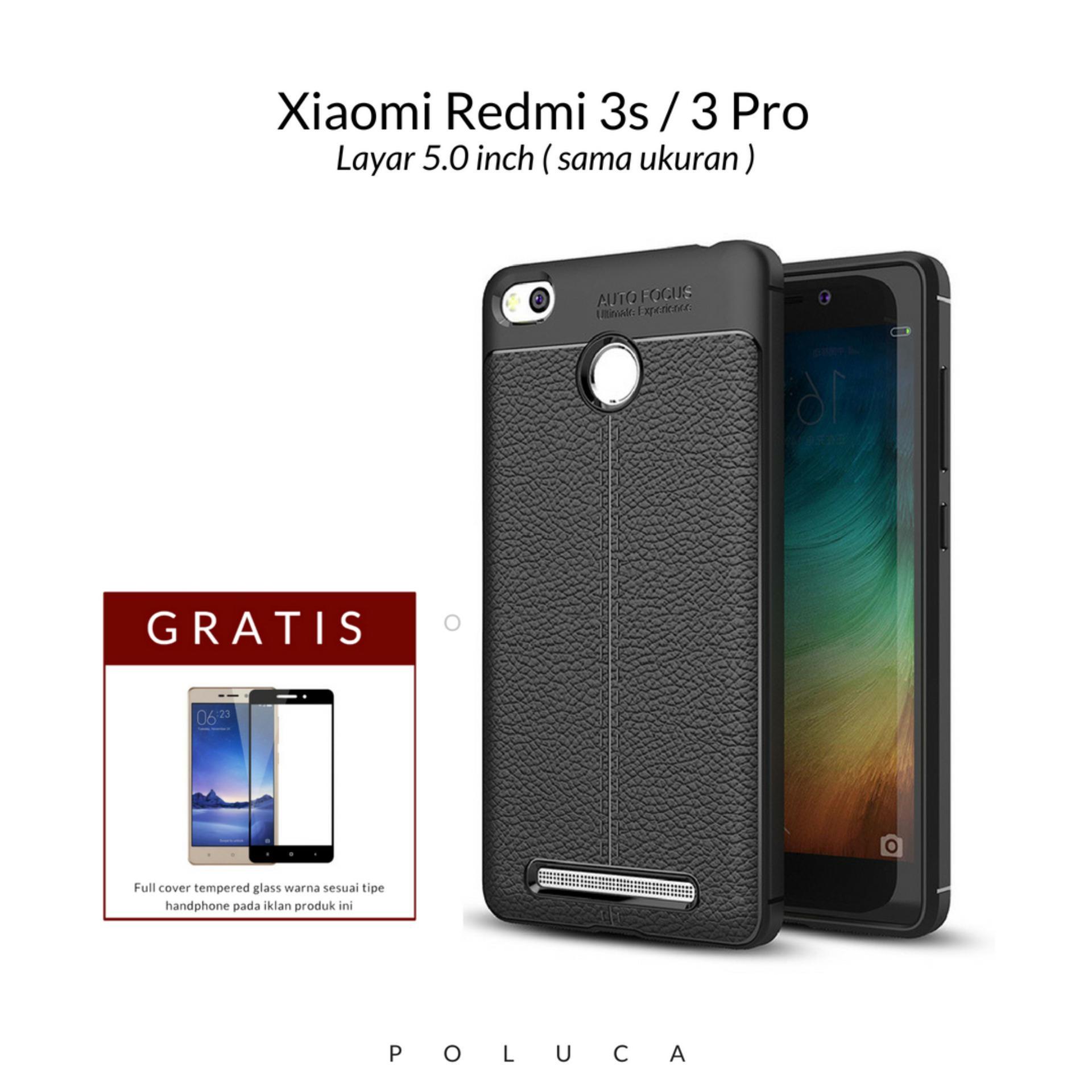 Poluca Luxury Case For Xiaomi Redmi 3 Pro / 3s Ultimate Experience TPU Leather Autofocus -