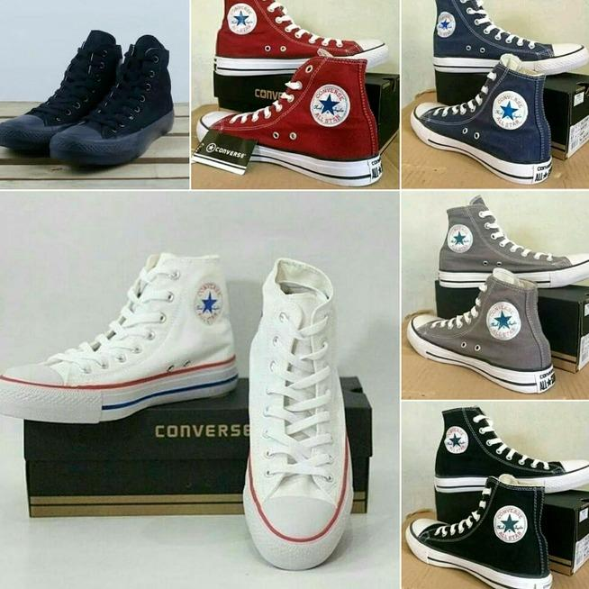 Converse Chuck Taylor All Star Classic Colour High Top Sepatu Sneakers-(COD BAYAR DI TEMPAT)