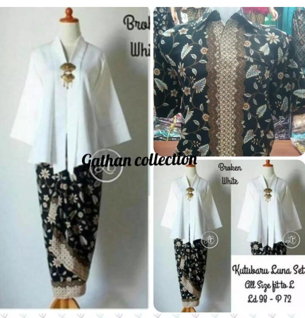 Ladies Fashion Batik Pasangan Gilang 3in1 Batik Couple Kemeja Batik ... 42495487fc