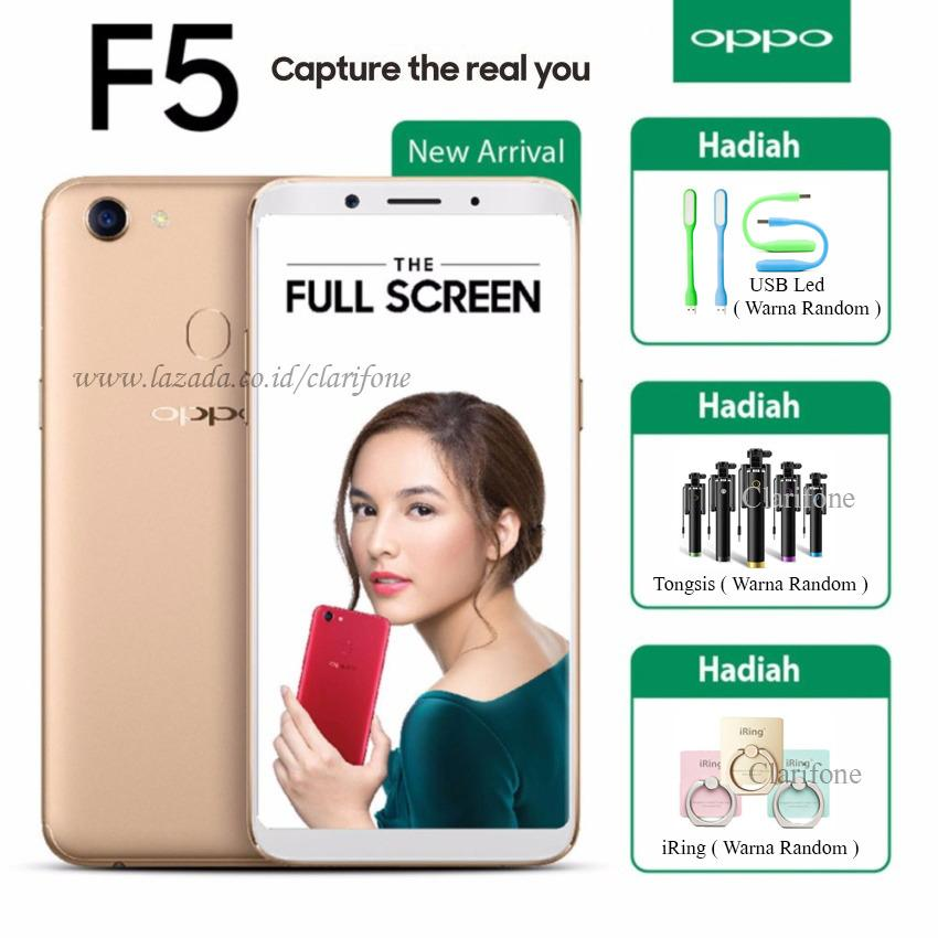 Oppo F5 Capture The Real You - Gold
