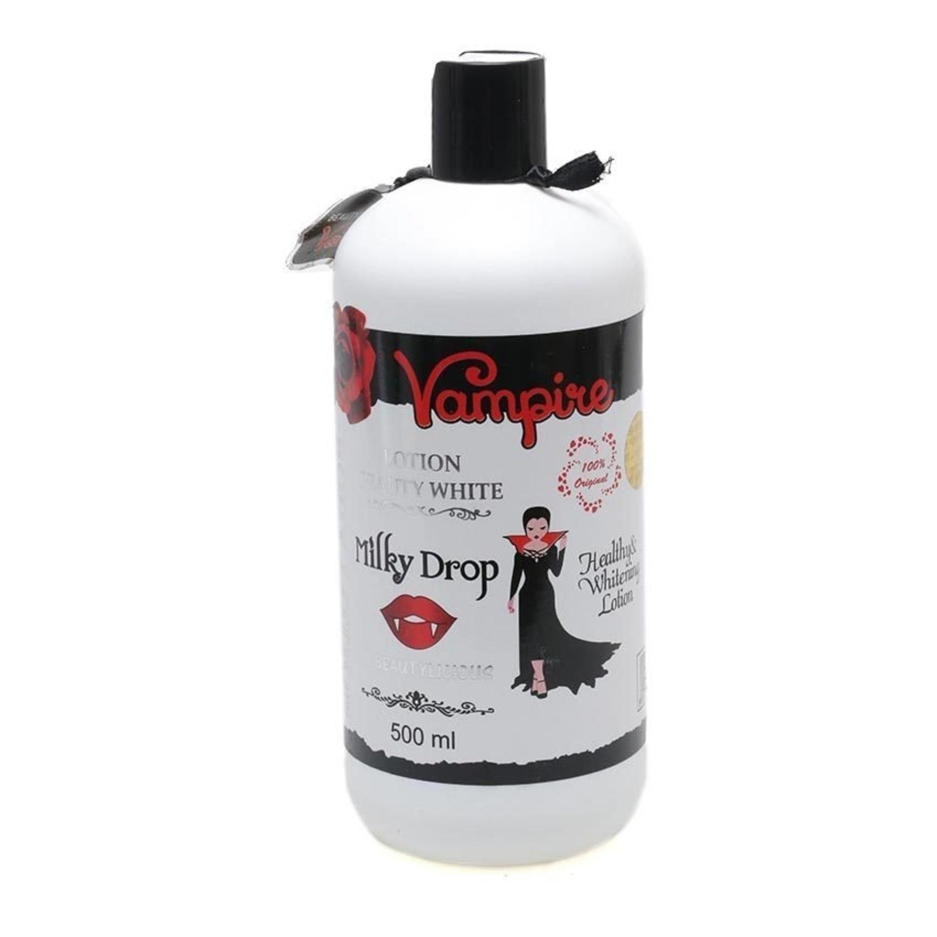 Vampire Lotion Beauty White Milky Drop - Body Lotion Vampire BPOM 500ml Original
