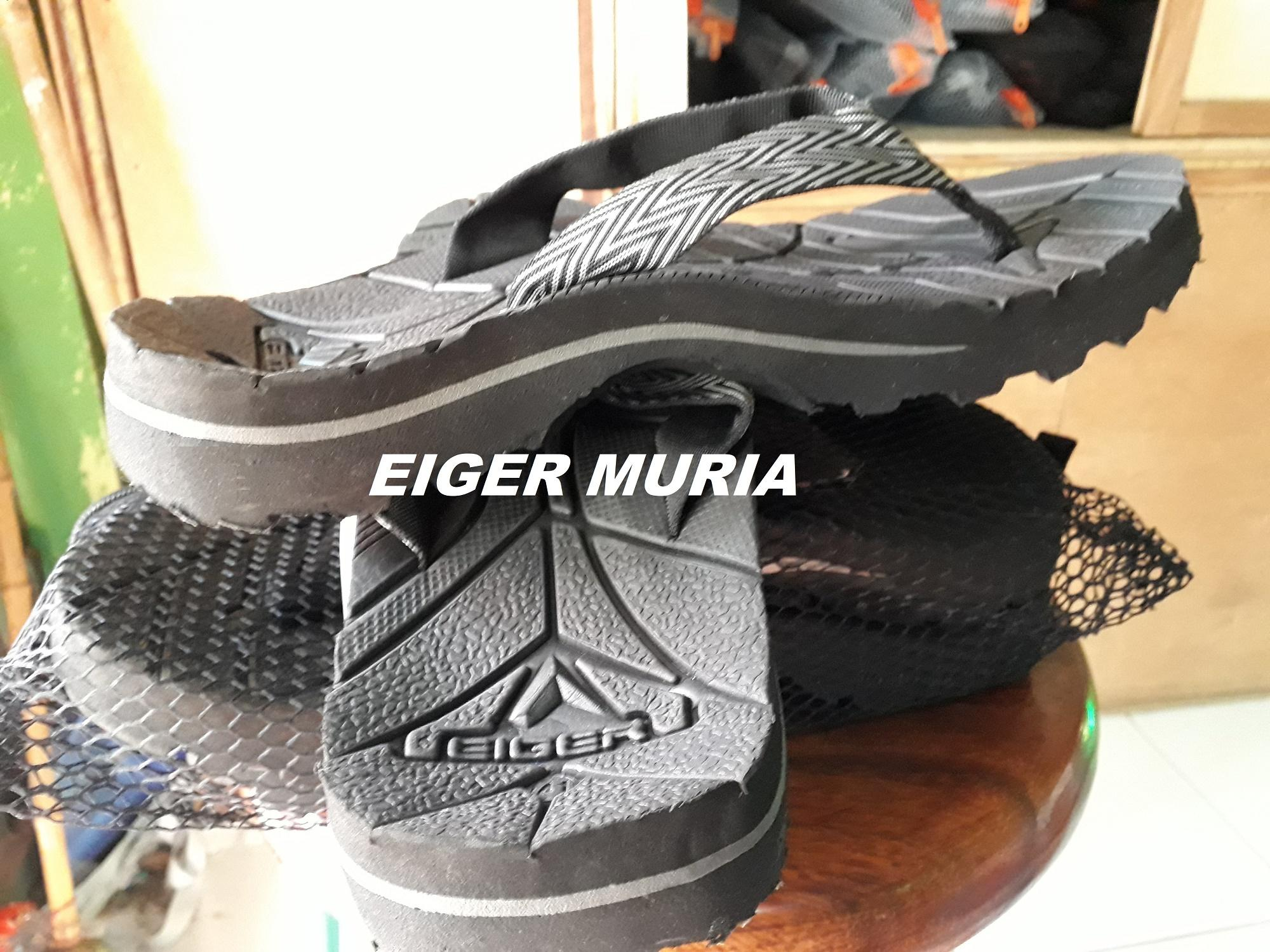 Kelebihan Promo Sandal Gunung Eiger Kinkajou Japit Jepit Hitam Polos Detail Gambar Terbaru