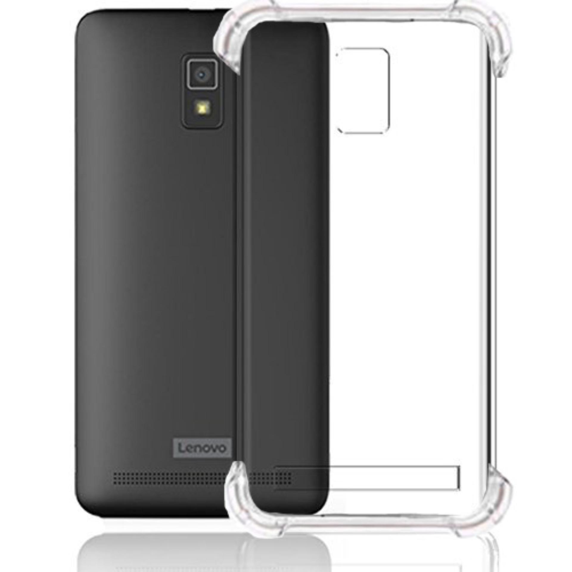 ShockCase for Lenovo A6600 / A6600+ Plus | Premium Softcase Jelly Anti Crack Shockproof - Transparan