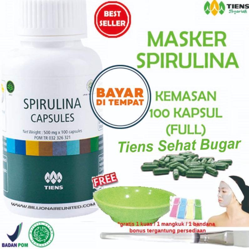 Pusat Jual Beli Tiens Masker Herbal Pemutih Wajah Paket 100 Kapsul Gratis Hadiah Random By Tiens Sehat Bugar Indonesia