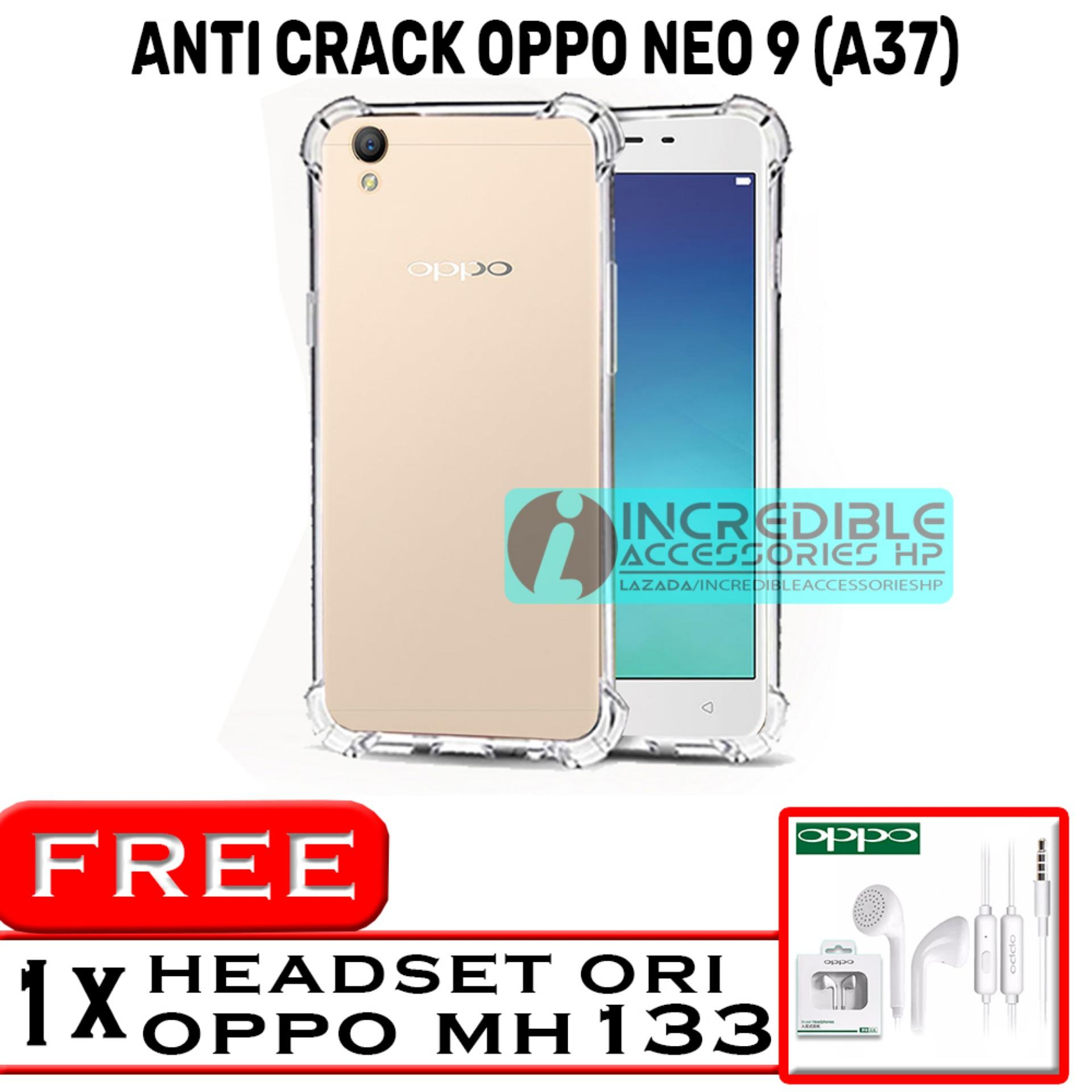 PROMO Case Anti Shock / Anti Crack Elegant Softcase for Oppo Neo 9 / Oppo A37