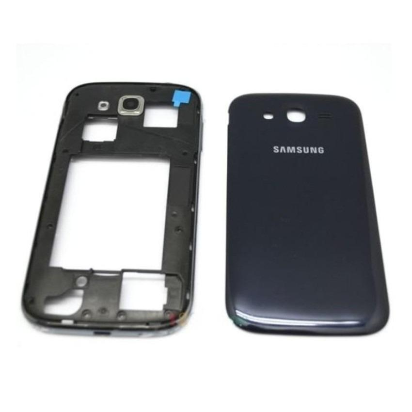 Housing Backdoor Fullset Casing - Back Case Plus Tulang Body - Samsung Galaxy Grand Duos