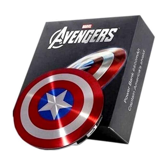 Power Bank Marvel Captain America 6800 mAh 2 port