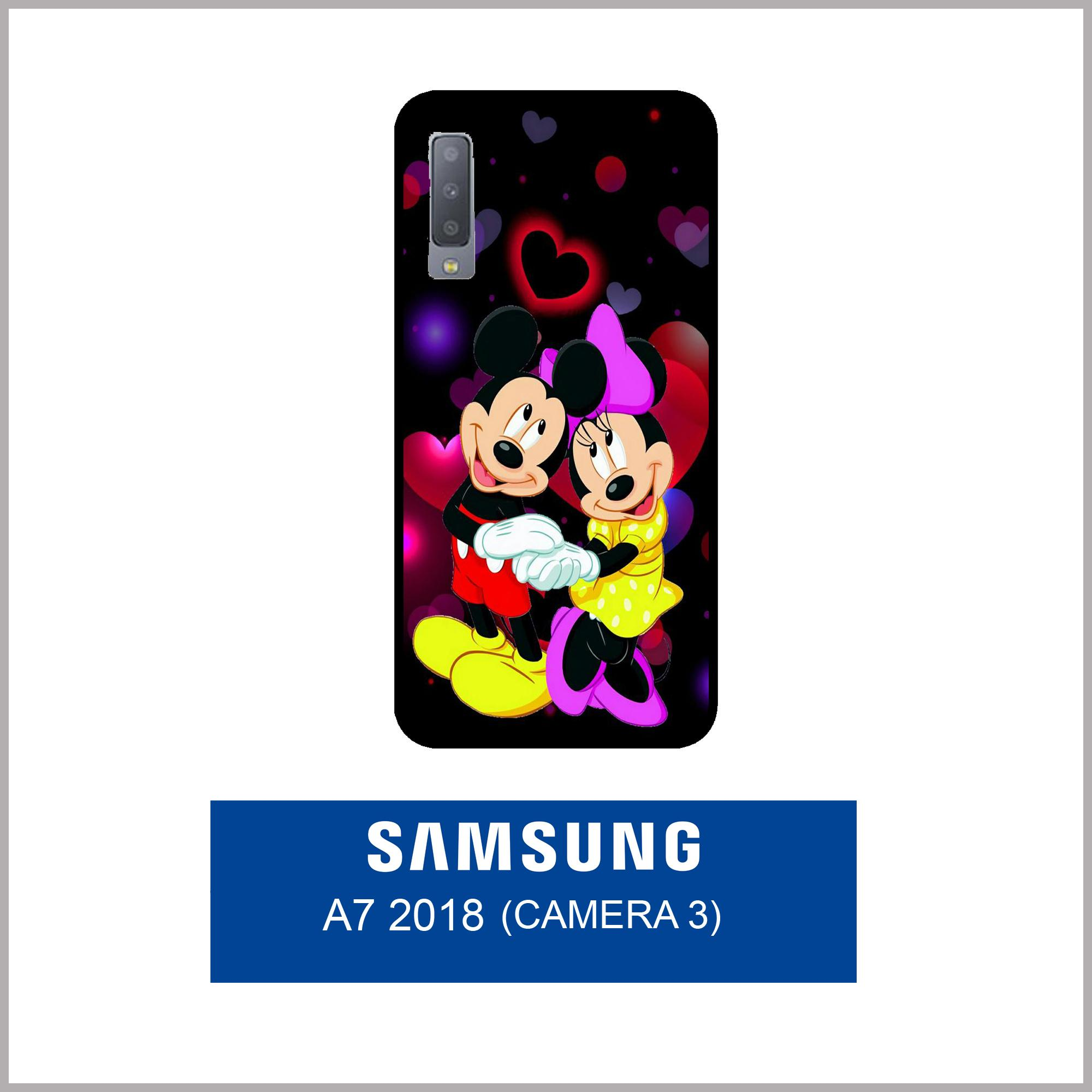 Features Case Fashion Printing For Samsung Galaxy A7 2018 3 Camera 7