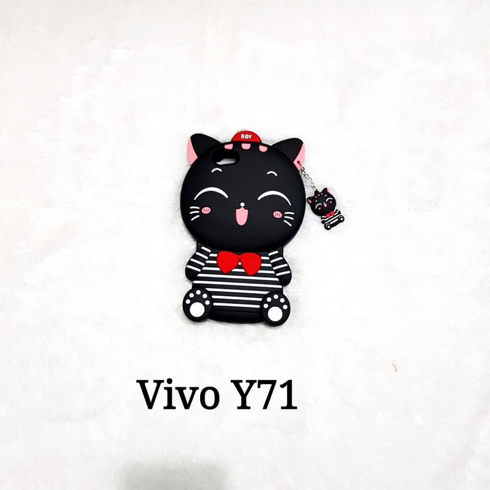 VIVO Y71 CASE 3D BONEKA KARAKTER CARTOON SOFTCASE