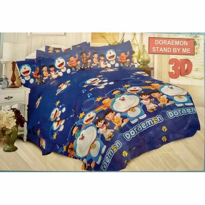 Spesifikasi Sprei Bonita King 180 X 200 Doraemon Stand By Me Terbaru