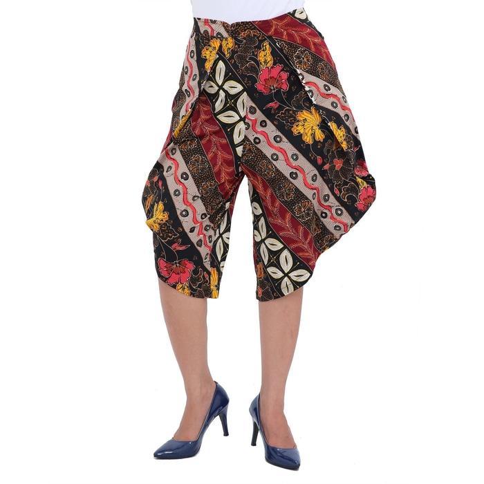 PROMO SAAT INI LEMONE Cullote Pants/ Celana Kulot Wanita/ Batik -
