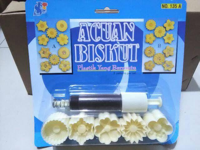 1 Set Cetakan Nastar / Biscuit 5 Motif - jJj7qh