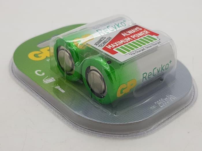 ... Baterai isi ulang GP RECYKO ukuran sedang C 2600mAh / rechargeable - 3 ...