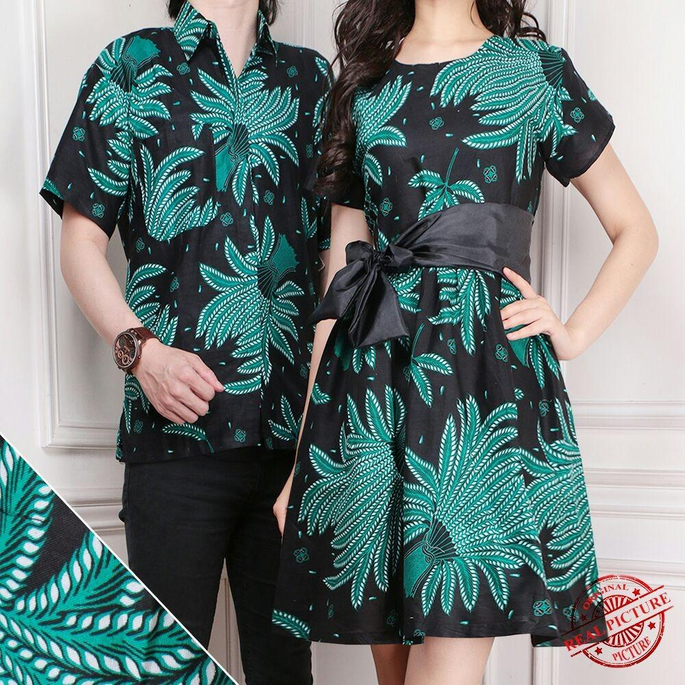 SB Collection Couple Midi Dress Abigail Dan Kemeja Batik Pria 879b4ddfcf