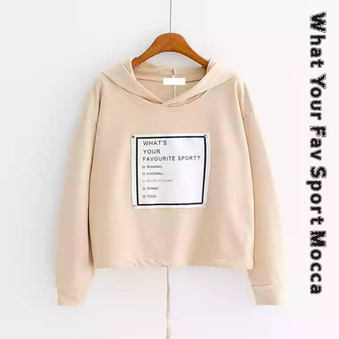 Wash Irie Hoodie Wanita Korean Style Butik Bajuku - Daftar Harga ... 20917113e0